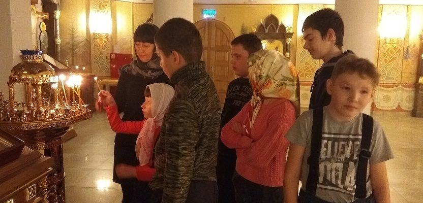 Урок-экскурсия с детьми реабилитационного центра «Виктория»