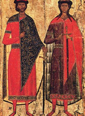 15 мая — день памяти святых благоверных князей Бориса и Глеба